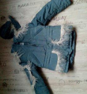 Куртка зима орби 152 рост