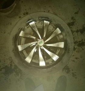 Йокохама на Рено логан литые диски