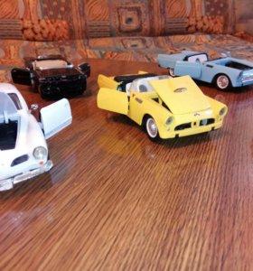 Игрушечные и коллекционные модели машин