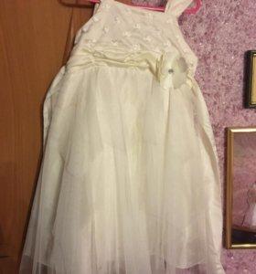 Продаём платьице с сумочкой на девочку 3-4 лет