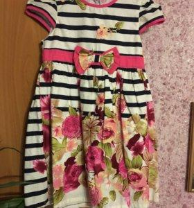 Платье на 4-6 лет