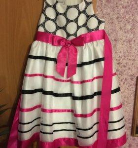 Платье на девочку 4-6 л