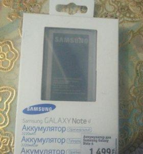 Samsung Galaxy Note4 аккумулятор б/у