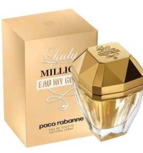 Парфюм Paco Rabanne Lady Million.Eau my Gold80 ml