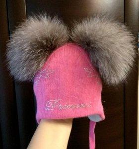 Новая шапочка Chobi зима.