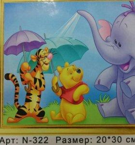 Картина по номерам, детский сюжет