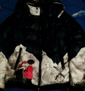 Куртка от лыжного костюма