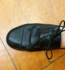 Новые ботинки-макасины