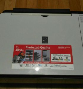 Мфу Canon MP270 и HP Photosmart C4283