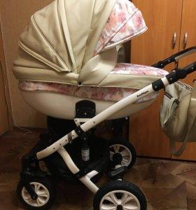 Детская коляска Indigo 2 в 1 + автолюлька