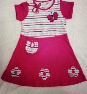 Платье на 3-4г, 92-104 см