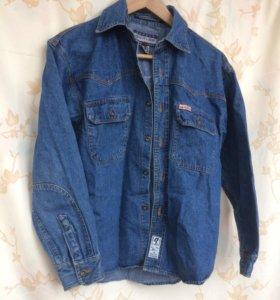 Джинсовка, джинсовая рубашка, джинсовая куртка