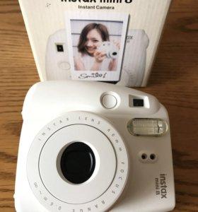 Фотоаппарат Fujifilm Instax Mini 8 ( белый)