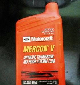 Mercon v масло гидравлическое