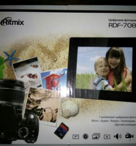 Цифровая фоторамка ritmix rdf-708d