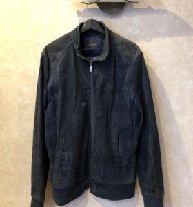 Куртка замшевая мужская Zara