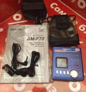 aiwa minidisc recorder am-f72