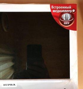 Новый в упаковке ТВ SUPRA диагональ 38 см