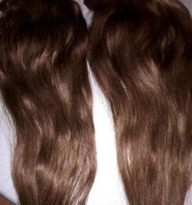 Волосы на заколках (Трэсы)