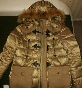Продам куртку с отделкой зима .