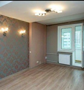 Ремонт квартир под ключ, натяжные потолки