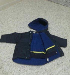 Куртка GAP пуховик на мальчика р.98