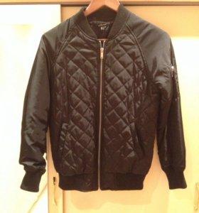Куртка-бомбер на стёганном синтепонЕ ( унисекс 👥)