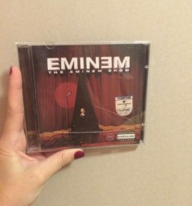 Eminem The Eminem Show лицензионный диск