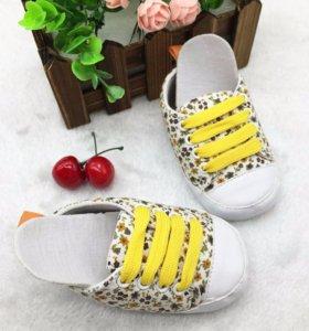 Обувь на мягкой подошве для малыша 5-11 мес