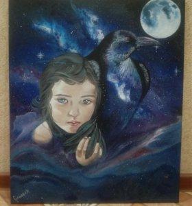 "Картина ""Дочь ворона"""