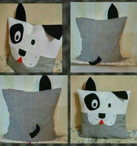Подушка-собачка