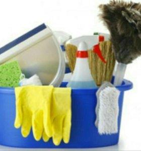 Уборка квартир, домов,любых помещений