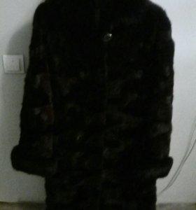 Шуба норковая размер 52-54