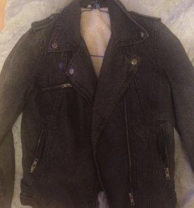 Косуха джинсовая куртка