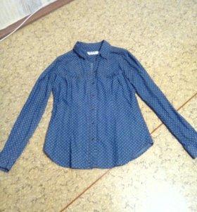 Рубашка джинсовая р-р 42-44