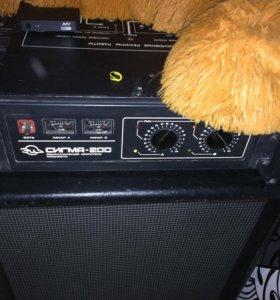 Концертная стереосистема Сигма-200