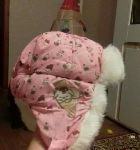 Шапка теплая ребенку