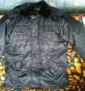 Куртка охранника, зимняя новая