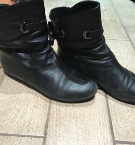 Ботиночки без каблука