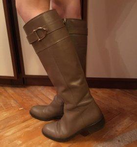 Сапоги кожаные 39 размер