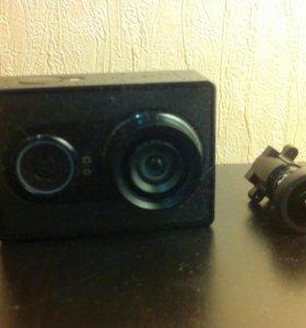 Родной объектив от xiaomi yi action camera