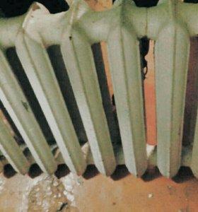 Чугунный радиатор отопления / батарея