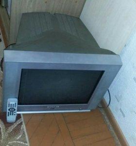 Телевизор Ситроникс с пультом ДУ