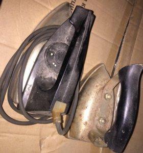 Утюги электрические старые