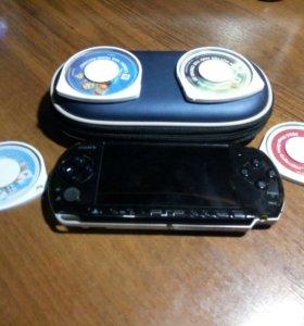 Игровая приставка Sony PSP-3008 pb