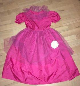 Карнавальное платье р.5-7 лет