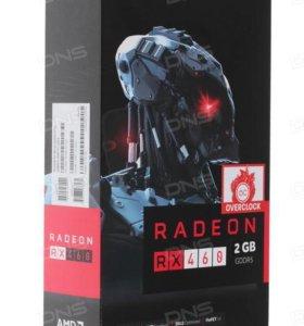 Продам Видеокарту Sapphire AMD Radeon RX 460 D5 OC