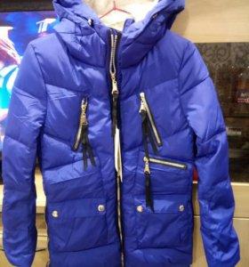 Куртка новая (холлофайбер) зима 42р
