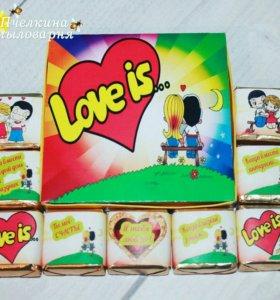 """Шокобокс """"Love is"""""""