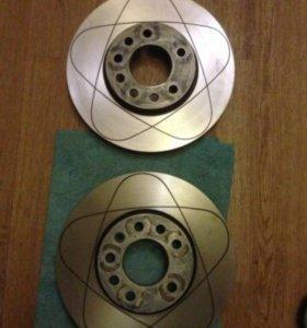 Передние тормозные диски ATE 24.0325-0141.1